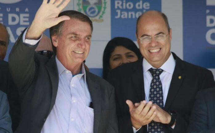 O RIO DE BOLSONARO E WITZEL