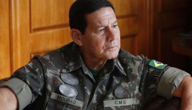 General Mourão e a eleição